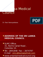 18a - Sri Lanka Medical Council (Extra)