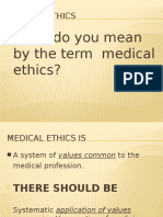 18b - Medical Ethics & Medical Negligence