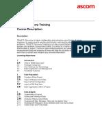 TEMS Discovery Training - Course Description