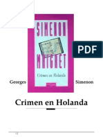 Simenon George- Maigret 08-Crimen en Holanda.doc