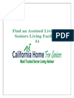 Find an Assisted Living or Seniors Living Facilities