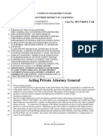 You can be an Acting Private Attorney General!!  Pro se's this is important.