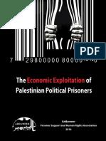 Economic Exploitation of Palestinian Prisoners - Addameer