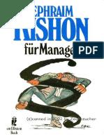 Kishon_Ephraim - Ephraim Kishon Für Manager