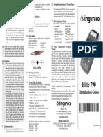 Ingenico - Elite 790 - Installation Guide (2004!10!20) [FCCID.io-485459] {GPRS}{Cdma}