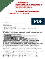 P118 II 2013 - Instalatii de Stingere