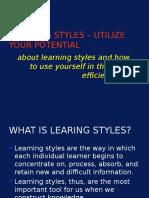 Dunn and Dunn Learning Styles