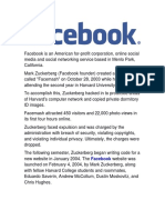 Facebook IT Research
