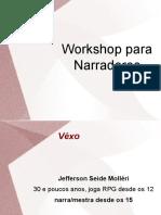 Workshop Narradores