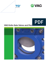 VAG Flyer Knife Gate Valves Penstocks Brochure Edition 2-10-12 2012 En