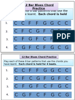 Blues Chords Practice