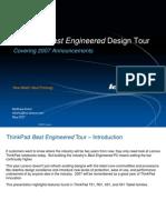 ThinkPad Best Engineered Design Tour