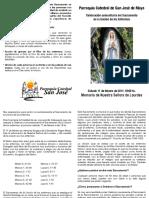 Catequesis Unción de los enfermos (Catedral de San José)