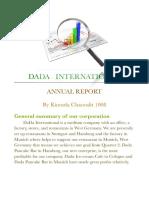 annual report eco