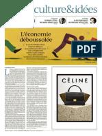 L'Economie Déboussolée - Le Monde 10 Octobre 2015