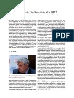 Protestele Din România Din 2017