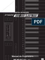 Yamaha PSR-E353 - Manual do Proprietário