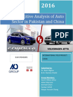 Industrial Note Automobile Sector