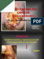 Infecciónes en Cirugía.