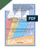 Projeto VII Encontro de Conselheiros - FUNDEB 2014
