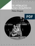 Duque , Félix. Arte público y espacio político..pdf