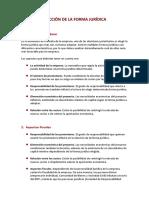 Elección de la Forma Jurídica.pdf