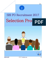 SBI PO Selection Process