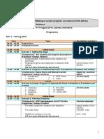Programme-Regional Network Meeting