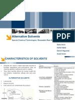 Alternative Green Solvents Part 01+02