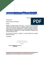 Referencia Comercial Servicios Integrales Leon & Yerio, c.a.