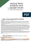Analysing Texts 5 - Isis War, Language Daesh
