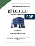 Compendio de Comprensión de Lectura - Bitec