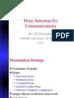 Horns for Communication