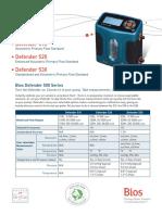 Bios Defender 500 Series Spec Sheet