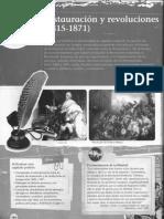 Unidad 05 - Restauración y Revoluciones (1815-1871)