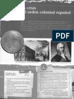 Unidad 03 - La Crisis Del Orden Colonial Español