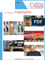 Current Affairs Study PDF - January 2017 by AffairsCloud