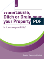 Watercourse Property Information