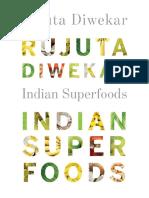 Indian Superfoods - Diwekar, Rujuta