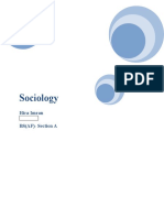 Sociology as a Profession