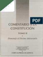 Comentario a La Constitucion Tomo 2
