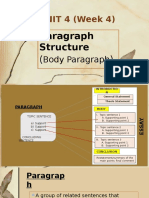 UNIT 4- Paragraph Structure (shared)-refined version.pptx