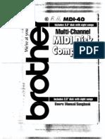Brother Disk Composer MDI-40