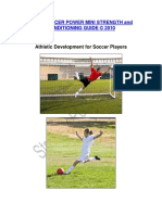 Athletic Development for Soccer Players