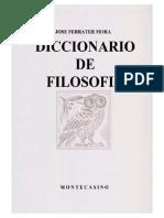 M. Montaigne, Ferrater Mora