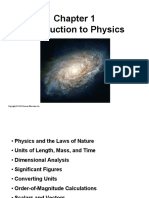 Chapter 1 Introduction to Physics
