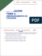0910 Edypref Ed Tema4 Dimensionamiento Forjados