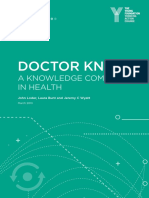Doctor Know a Knowledge Commons in Health