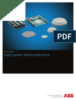 ABB Semiconductors. High-power Semiconductors. Product Catalog. 2015