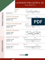 Lamina Traslucida Stabilit Poliacryl Poliester Acrilica G5